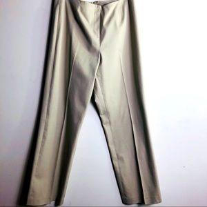 ELLIOT LAUREN Taupe color pants Back pockets SZ 12